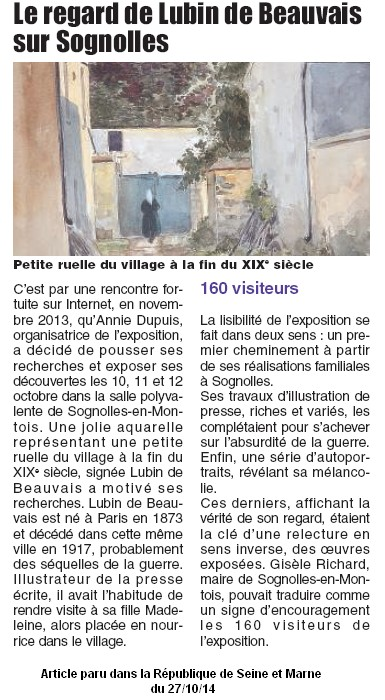 lubin de beauvais - article