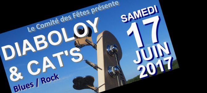 De nouveau, un concert Blues/Rock à Sognolles en Montois